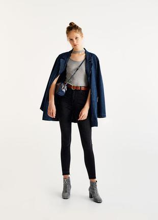 Sale джинсовый пиджак жакет оверсайз pull&bear s