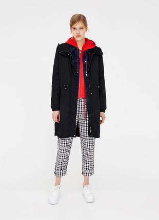 Легкая куртка парка ветровка pull&bear  xs s