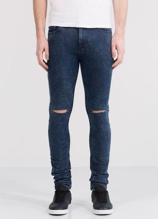 Sale мужские джинсы суперскинни скинни зауженые pull&bear eur ...