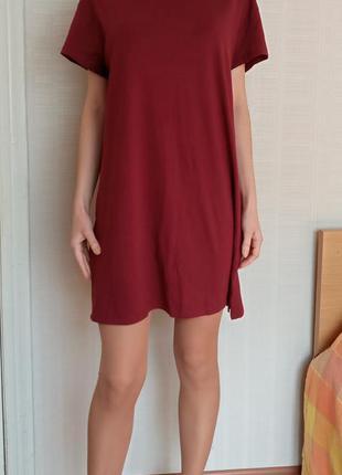 Sale платье - футболка оверсайз s m