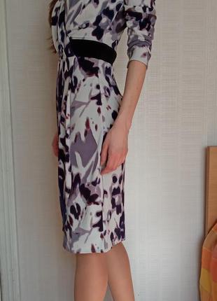 Sale лавандовое платье футляр на запах love republic s