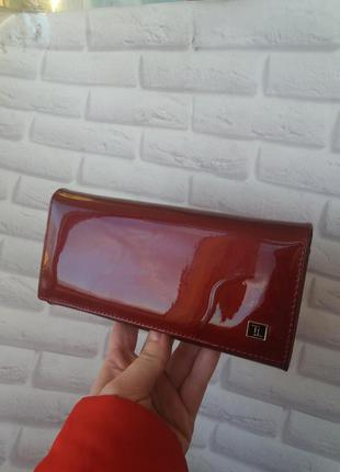 Женский кожаный кошелек жіночий шкіряний гаманець