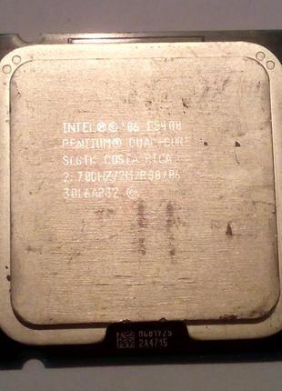 Процессор сокет 775 Intel Pentium Dual-Core E5400 2.70GHz 2M 800
