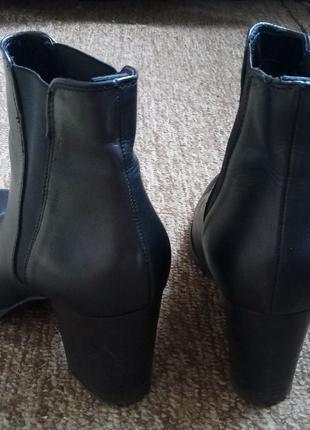 Шкіряні полусапоги ботинки