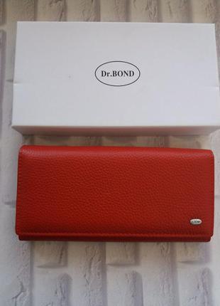 Женский кожаный кошелек шкіряний жіночий гаманець