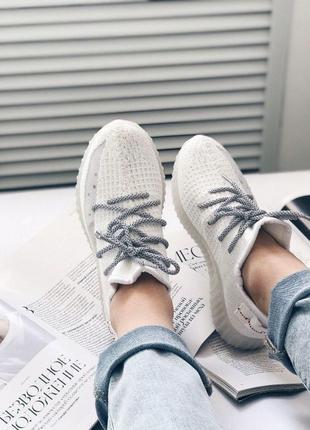 Летние женские кроссовки, дышащие, вторые шнурки в подарок