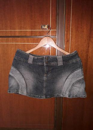 Юбка джинсовая 46р.