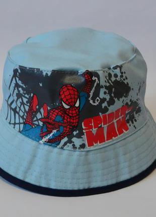 13-179 детская панама spider man спайдермен панамка