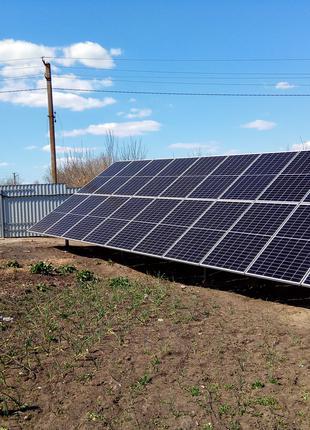 Солнечные станции, навесы, фасад любой сложности
