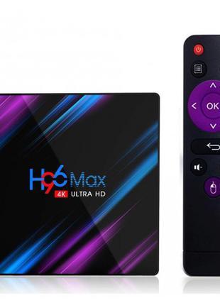 Смарт ТВ приставка SmartTV H96 Max 2gb/16gb Андроид