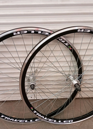 Вело колёса на двойном ободе 20.24.26.28 дюймов под эксцентрик