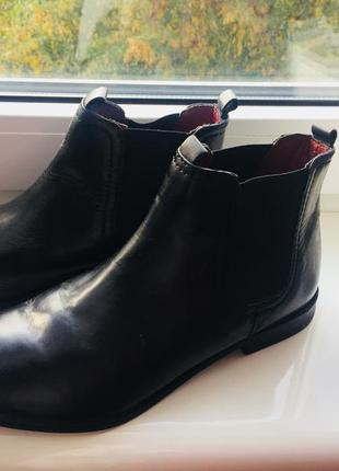 Ботинки кожа кожаные сапожки сапоги