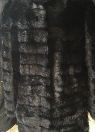 Шуба норка трансформер 100см все размеры