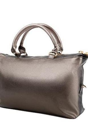 Женская повседневно-дорожная сумка из качественного кожзаменит...