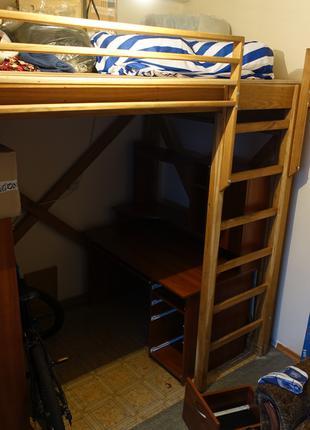 кровать чердак в стиле лофт LOFT