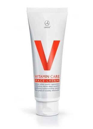Крем для лица, шеи, декольте 80 мл vitamin care