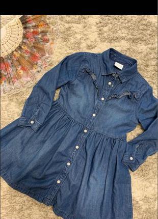 Платье джинсовое F&F