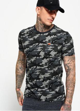 Оригинальная футболка последняя коллекция superdry ® lite camo...