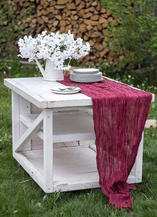 Скатерть на стол набором с салфетками МАРСАЛА