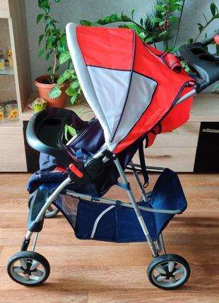 Детская коляска Geoby (прогулочная)