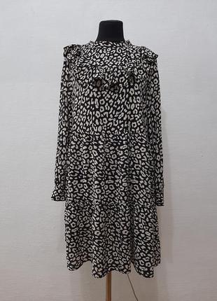 Стильное модное трендовое платье zara большого размера