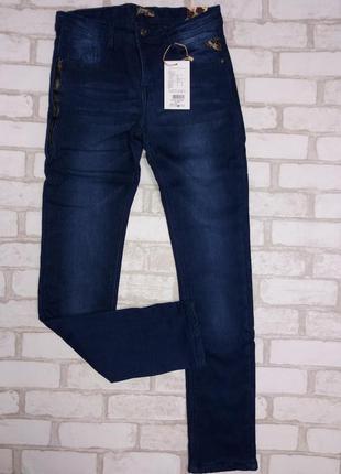Утепленные джинсы с флисовой подкладкой