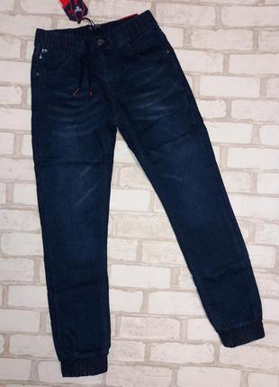 Утепленные джинсы-джоггеры taurus.