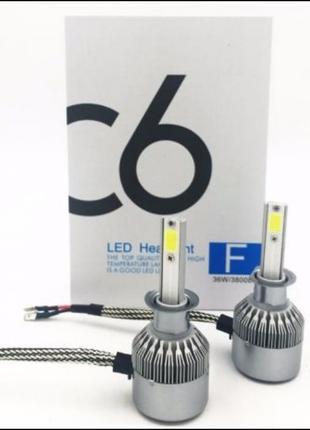 Комплект автомобильных LED ламп C6 HR-H3 5539