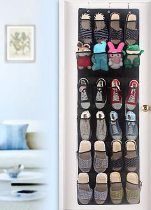 Органайзер на двери для обуви и других вещей