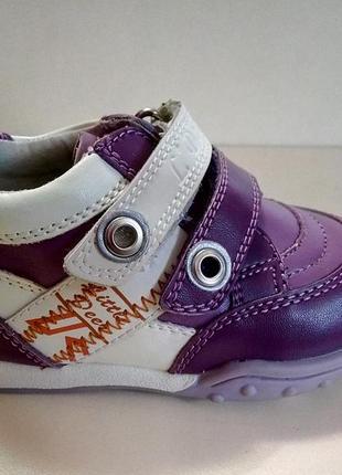 Ботинки демисезон девочка b&g