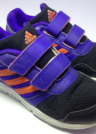 Adidas кроссовки на липучках унисекс 20.5-21 см