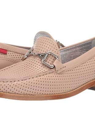 Туфли лоферы женские бежевые marc joseph new york. оригинал из...