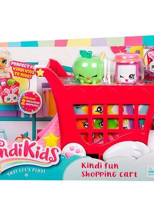 Игровой набор Kindi Kids Shopping Cart Тележка
