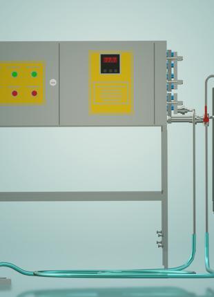Пастеризатор молока емкостной на 100 л УЗМ-0,1Е