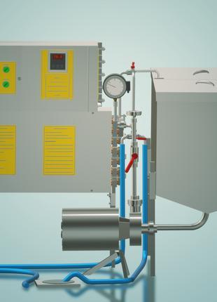 Пастеризатор молока проточный на 500 л УЗМ-0,5