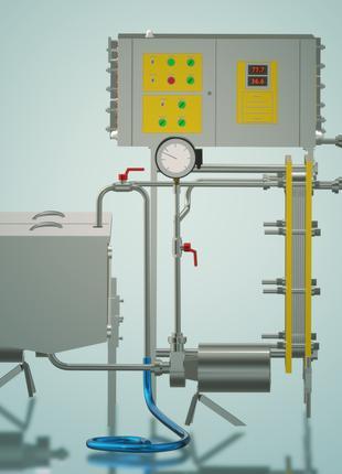 Пастеризатор молока проточный 1 т/ч УЗМ-1,0П