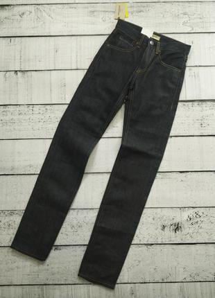 Джинсы мужские темно-синие levis made and crafted tack slim  26