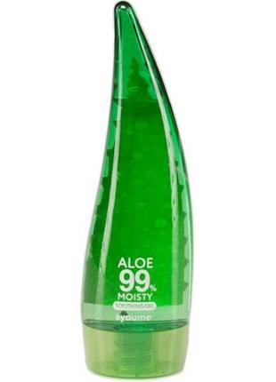 Успокаивающий гель с алоэ вера Ayoume Aloe 99% Moisty Soothing Ge