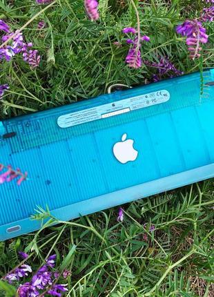 IMac G3 Keyboard Teal Blue M2452, Mint Vintage