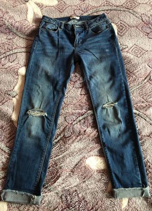 джинсы синие женские джинси