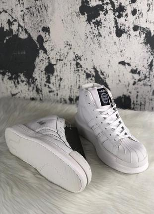 Женские кроссовки \ лоферсы rick owens × adidas mastodon pro i...