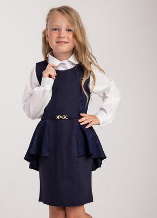 Школьный сарафан для девочек производитель украина