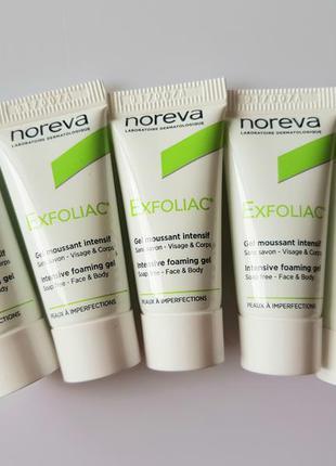 Гель для умывания для жирной кожи noreva exfoliac