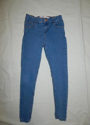 Джинсы модные skinny на девочку 11-12 лет 152 см