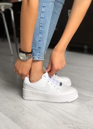 Nike air force 1 classic white ♦ женские кроссовки ♦ весна лет...