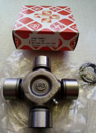Крестовина карданного вала Мерседес Спринтер 906 с 2006 г. JAB -