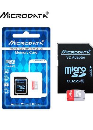 Карта памяти 32-64-128GB microSDHC Class 10 UHS-I U1 + SD-адаптер