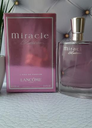 💝оригинал 💝100 мл lancome miracle blossom парфюм.вода нежный,ц...