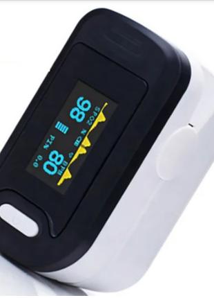 Пульсоксиметр на палец для измерения пульса и сатурации крови YON
