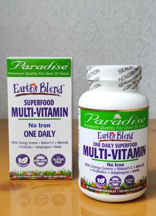 Сверхпитательный комплекс витаминов и минералов, Paradise Herbs